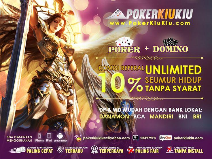 ปักพินในบอร์ด PokerKiuKiu.com   Agen Judi Poker dan Domino