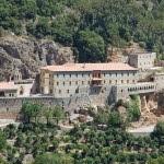 Il convento di Quzhayā visto dall'alto