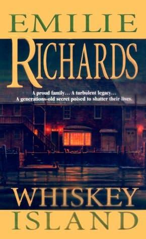 capa do livro da ilha Whiskey por Emilie Richards