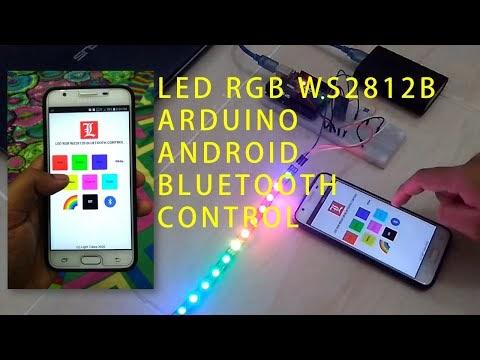 Kontrol LED RGB WS2812B dengan Android