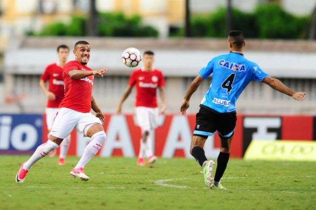 Inter joga mal e perde para o Paysandu por 1 a 0 em Belém Ricardo Duarte/Sport Club Internacional