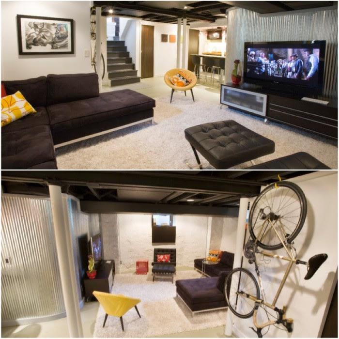 media room basement remodel 0