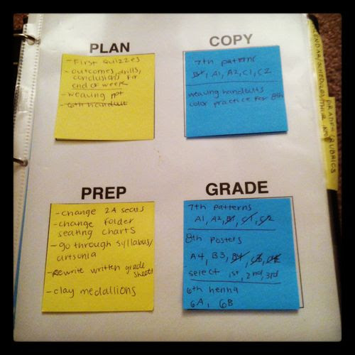 teachingtoday: This is such a simple idea I found online, but it is helping me SO MUCH with keeping organized this school year!  http://www.pinterest.com/pin/262616221993338018/