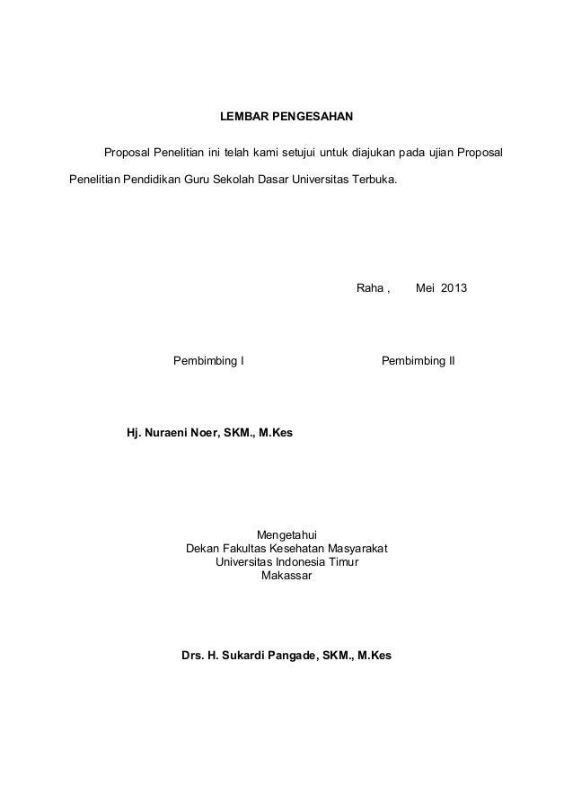 Contoh Proposal Penelitian The Exceptionals