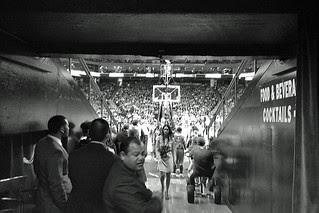 Golden State Warriors - VIP Floor entrance