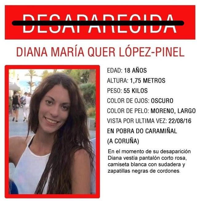 Diana Quer Desaparecida