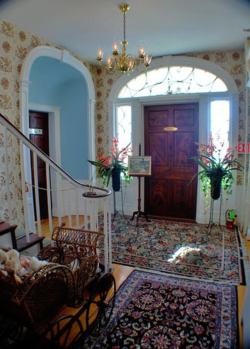 Front Entryway of the Mansion