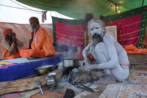 Maha Kumbh And Digambari Naga Babas by firoze shakir photographerno1