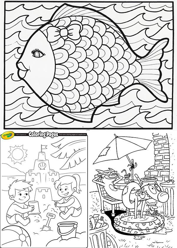 Dibujos De Verano Para Colorear E Imprimir