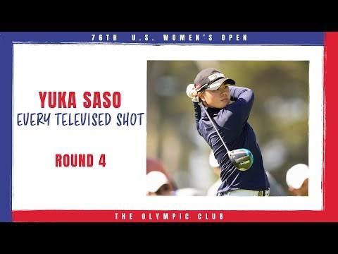 Yuka Saso's Final Round - 2021 U.S. Women's Open