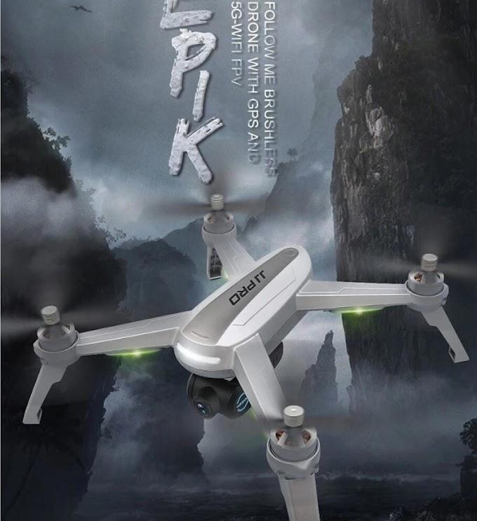 JJPRO X5 Newest GPSWifi follow me drone with 1080P 5G wifi camera orbit function 90 degree servos camera adjust degree VS B5W