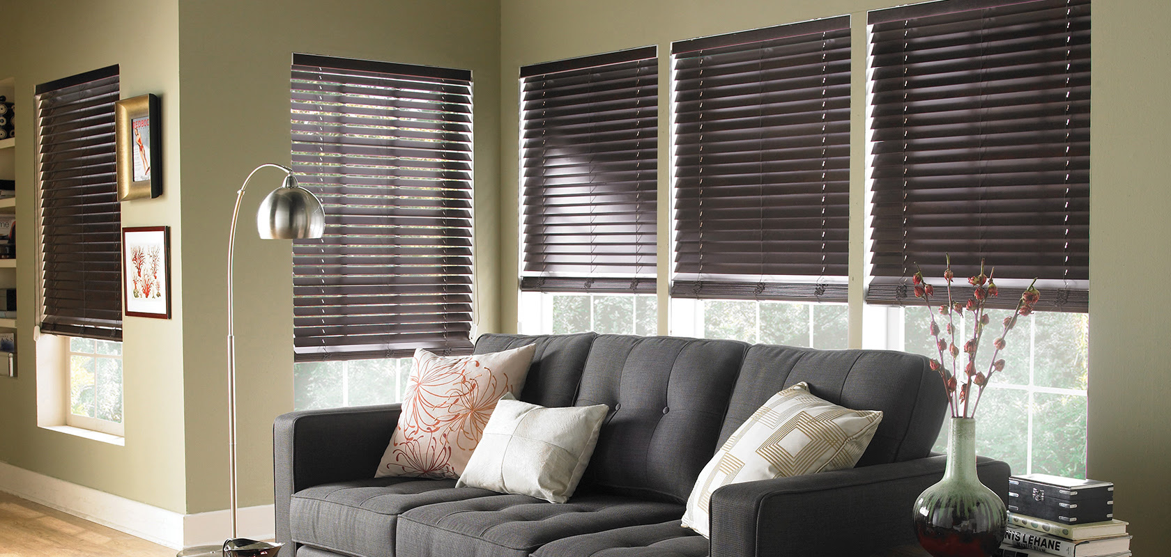 Faux Wood Blinds Paintshop