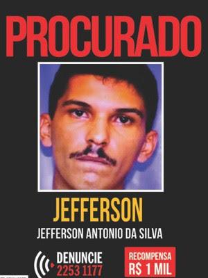 Jefferson é acusado de prender a filha em gaiola de ferro no Rio (Foto: Divulgação/Disque Denúncia)
