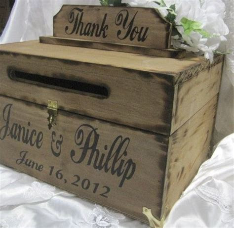 25  best ideas about Rustic Card Boxes on Pinterest