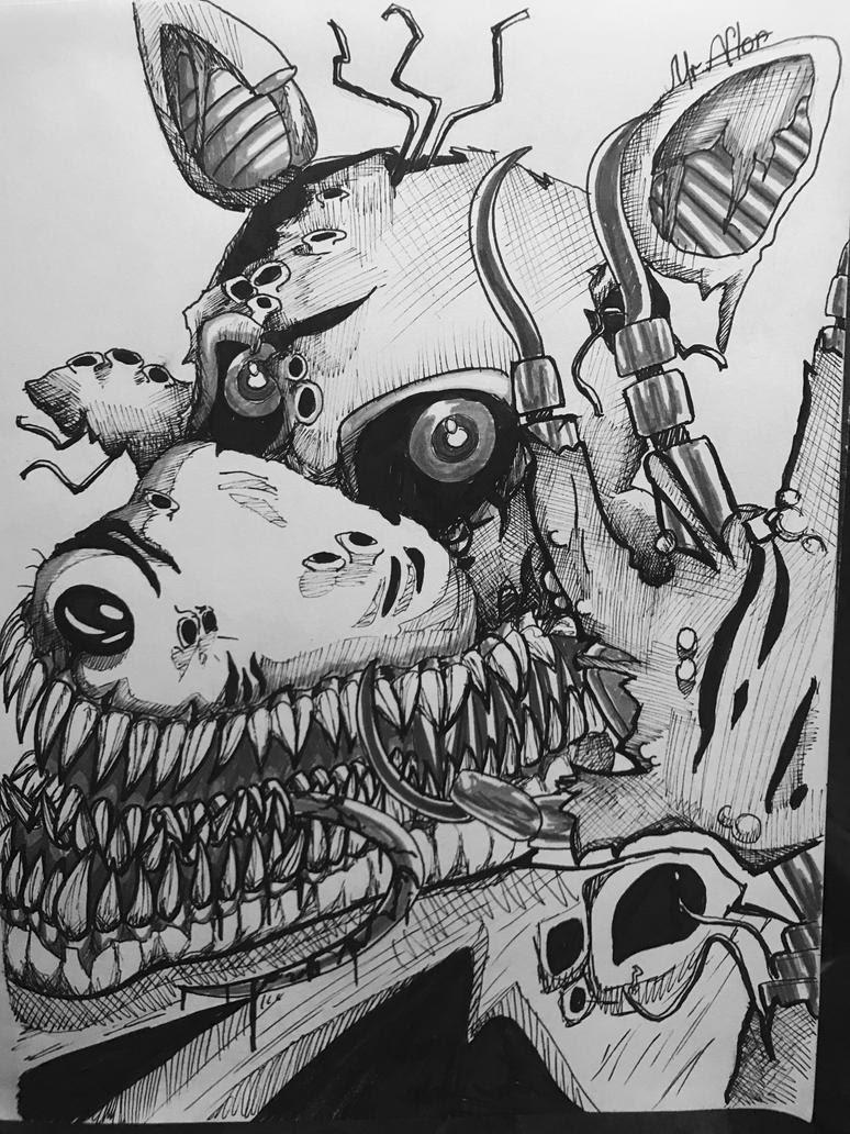 Twisted Foxy by SakuraWolfer on DeviantArt