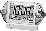 PYXIS (ピクシス) 目覚まし時計 ライデン デジタル 電波時計 大音量 NR522W