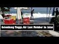 Gelombang Tinggi, Air Laut Meluber ke Jalan di Pantai Kuta
