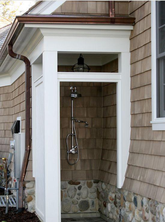 Outdoor Shower Closet
