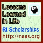 Lessons Learned in Life Scholarships for Rhode Island students