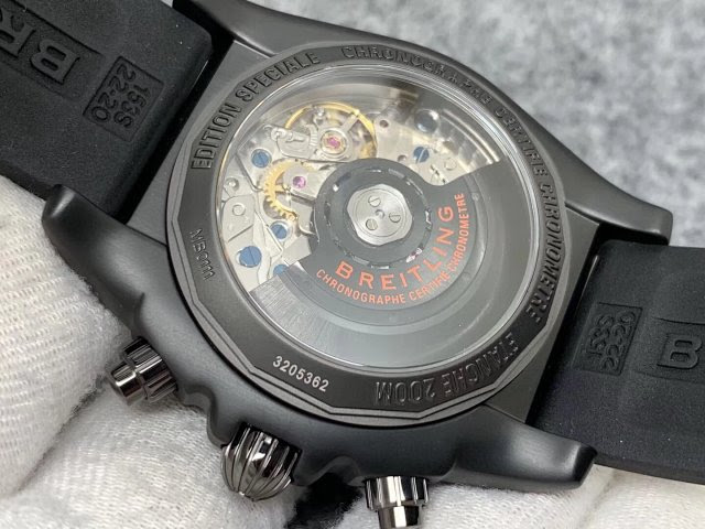 Breitling Raven Crystal Back