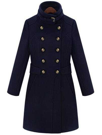 http://www.shein.com/Navy-Double-Breasted-Stand-Collar-Waistband-Slim-Wool-Coat-p-146742-cat-1735.html?aff_id=1285