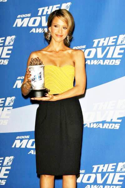 jessica alba 2006 mtv movie awards
