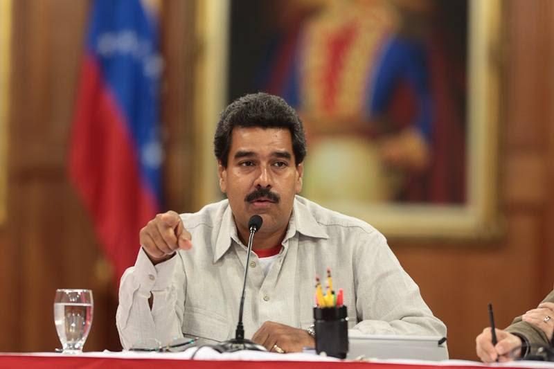 El Presidente Nicolás Maduro Moros