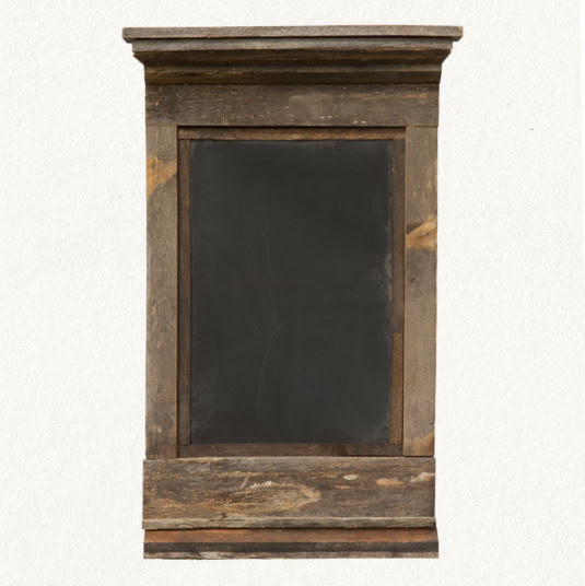 Reclaimed Wood Chalkboard Terrain - eclectic - accessories and ...