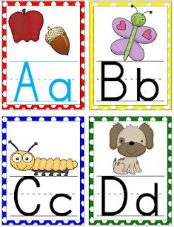 Large Polka Dot Alphabet cards for your classroom!!! FREE ...
