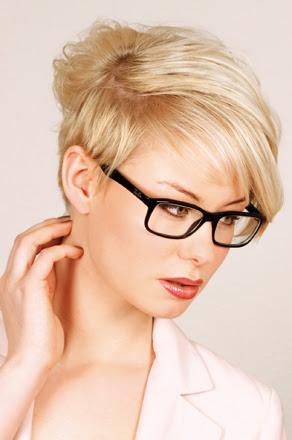Damenfrisuren Für Brillenträger