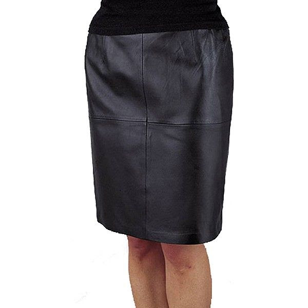 Excelled Leather Skirt