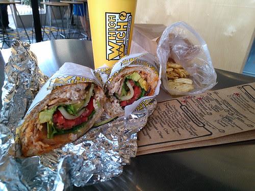 A Buffalo Chicken Sandwich
