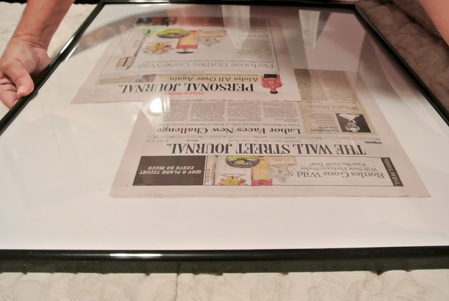 Framing my WSJ Article.