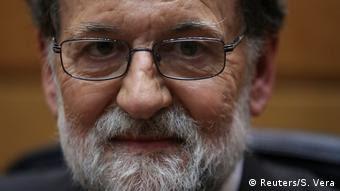 Spanien Senat in Madrid | Mariano Rajoy (Reuters/S. Vera)
