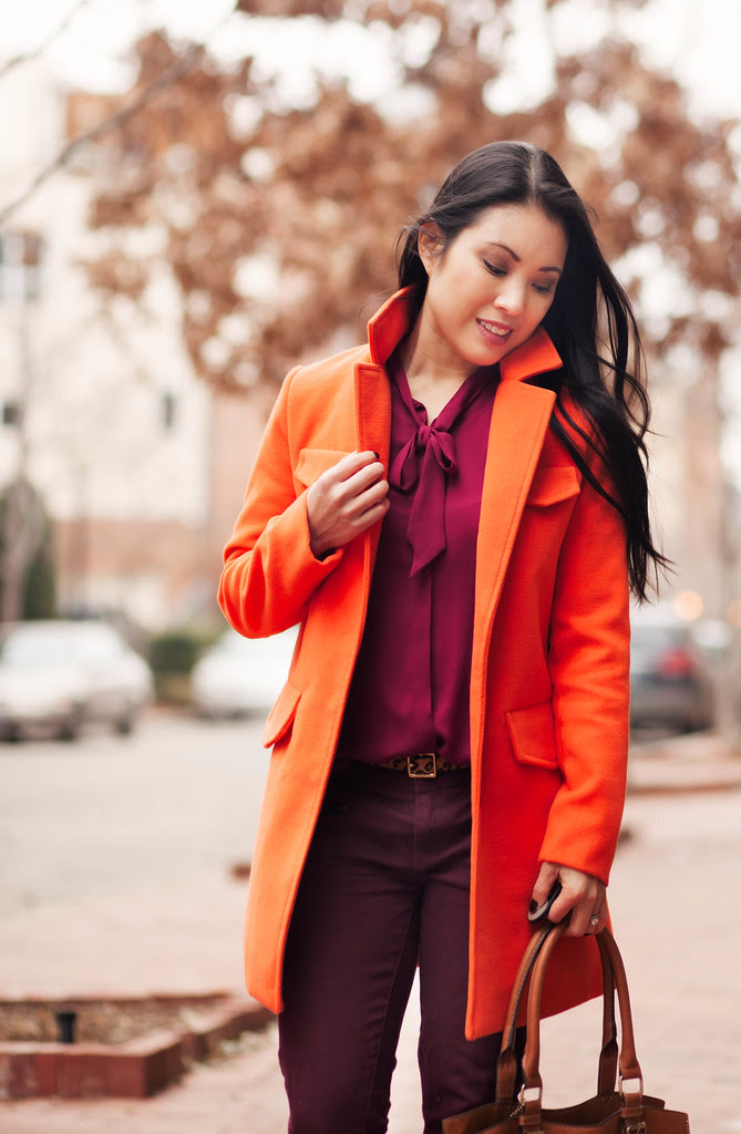 red  orange  cute  little  dallas petite fashion blogger