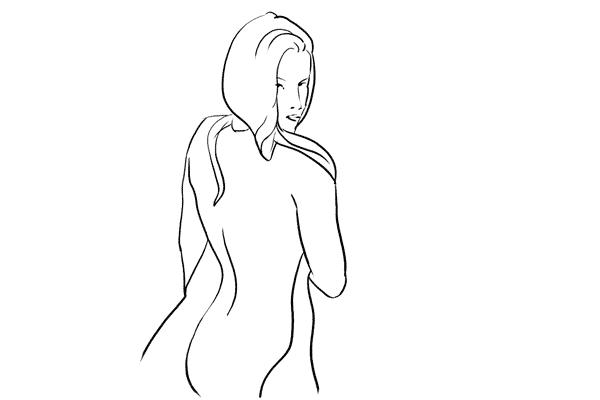 Позирование: позы для гламурного портрета 15