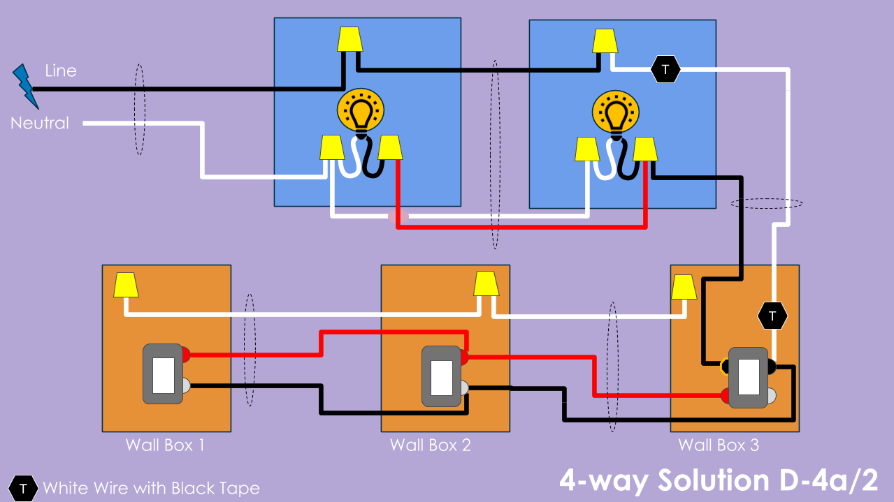 4 Way Wiring Solution D Diy Smart Home Guy