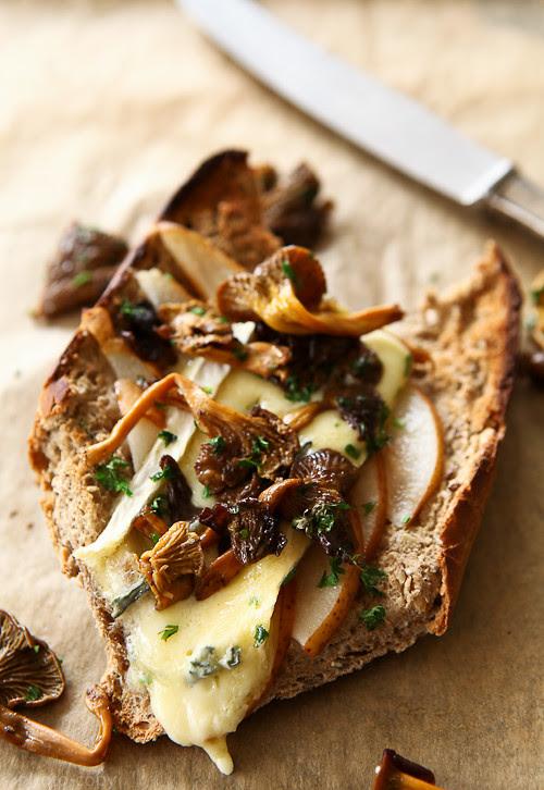 pear and cambozola sandwich 2