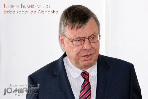 Ulrich Brandenburg | Embaixador da Alemanha