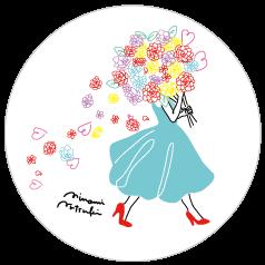 13名に豪華プレゼント 世界に1つだけ 人気イラストレーター キレイキレイ大人デザインボトルラベル Girlswalker ガールズウォーカー