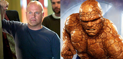 Michael Chiklis + The Thing