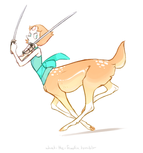 the-salem-witch-institute said: the diamonds are giraffe centaurs right? what about pearls being deer centaurs. Answer: Well I'm sure as heck not gonna say no Live your dreams and enjoy your taurs,...