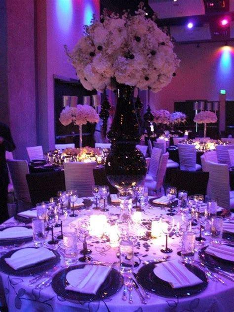 19 best Black, White, Purple Wedding Theme images on