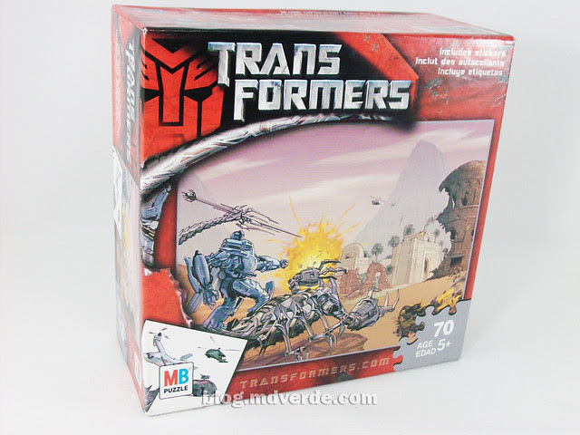 Rompecabezas Transformers