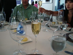Table and Champagne