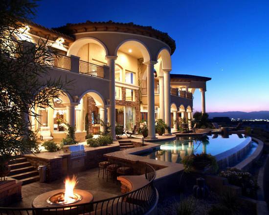 Contoh Desain Rumah Mewah Elite