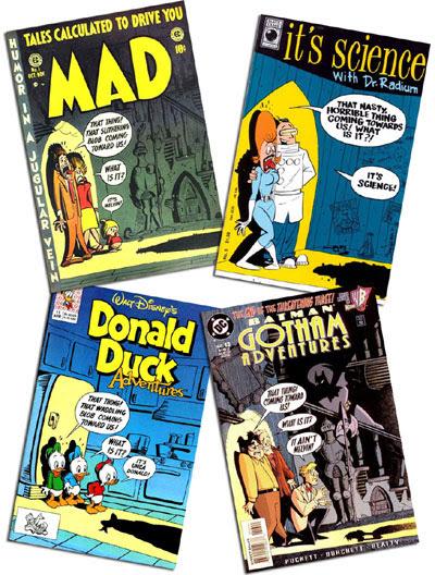 Mad #1/It's Science #5/Donald Duck Adventures #11/Batman: Gotham Adventures #13