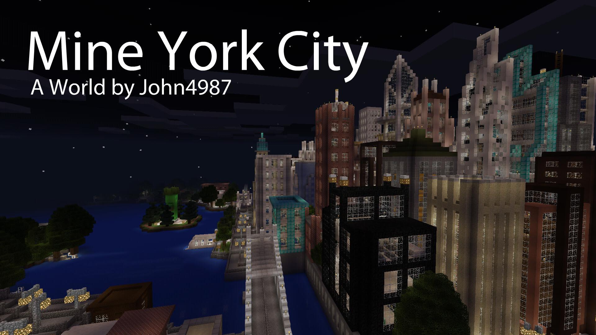 большой город для майнкрафт 0.14.0 #7