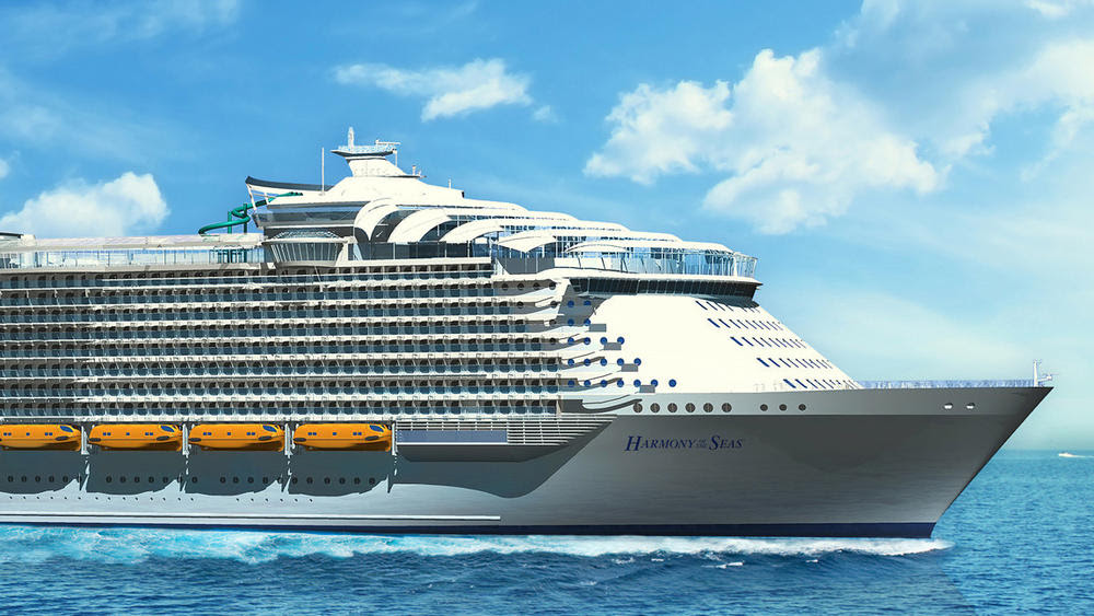 Royal Caribbean Harmony of the Seas rendering