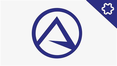 simple letter logo design tutorial circular logo adobe